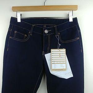 "Rare, ""sample"" pair of very dark blue denim jeans"